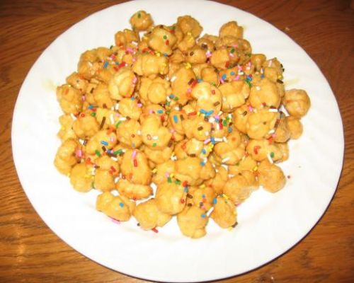Struffoli (Honey Balls)