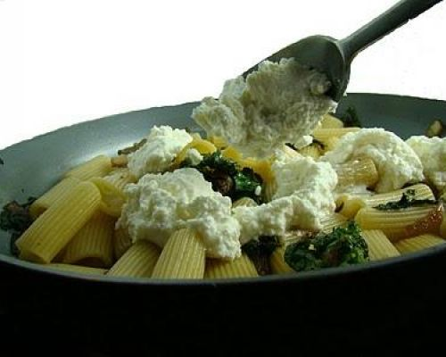 Pasta with Rapini and Ricotta