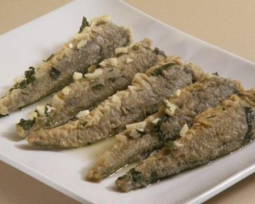 Marinated Merluzzi - Whiting