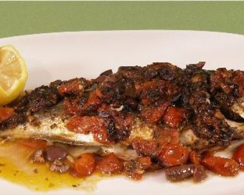 Orata (Sea Bream) alla Veneziana