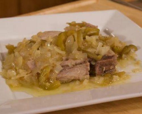 Pork Chops Lucanian Style