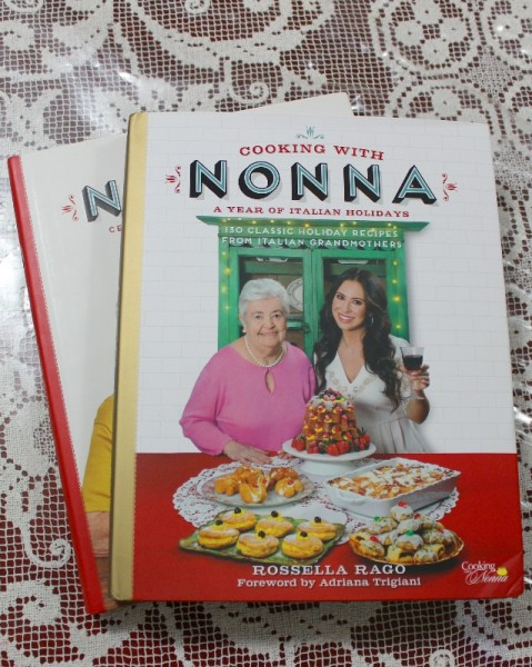 The Cooking with Nonna Cookbooks - The Set